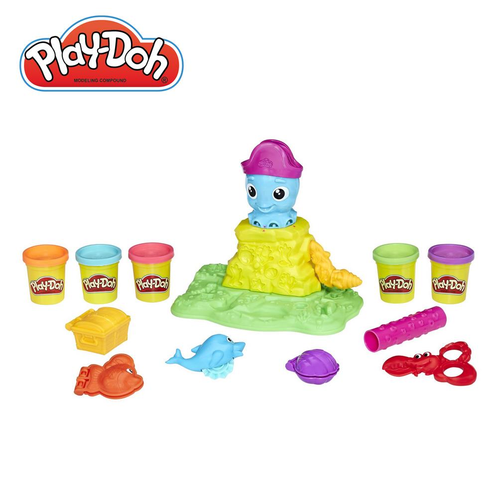 Play-Doh培樂多-彎彎章魚遊戲組