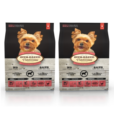 Oven-Baked烘焙客 成犬 羊肉+糙米口味 低溫烘焙 非吃不可 1公斤 X 2包