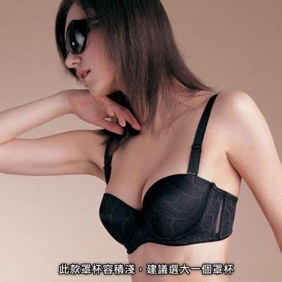 曼黛瑪璉-新峰情內衣-黑-G75