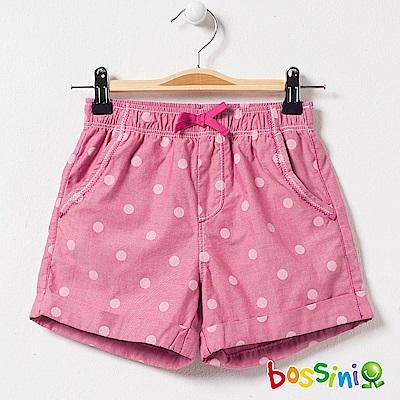 bossini女童-印花輕便短褲02玫瑰色