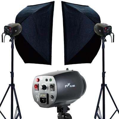Piyet 專業攝影棚雙燈組合 ( PK180G )