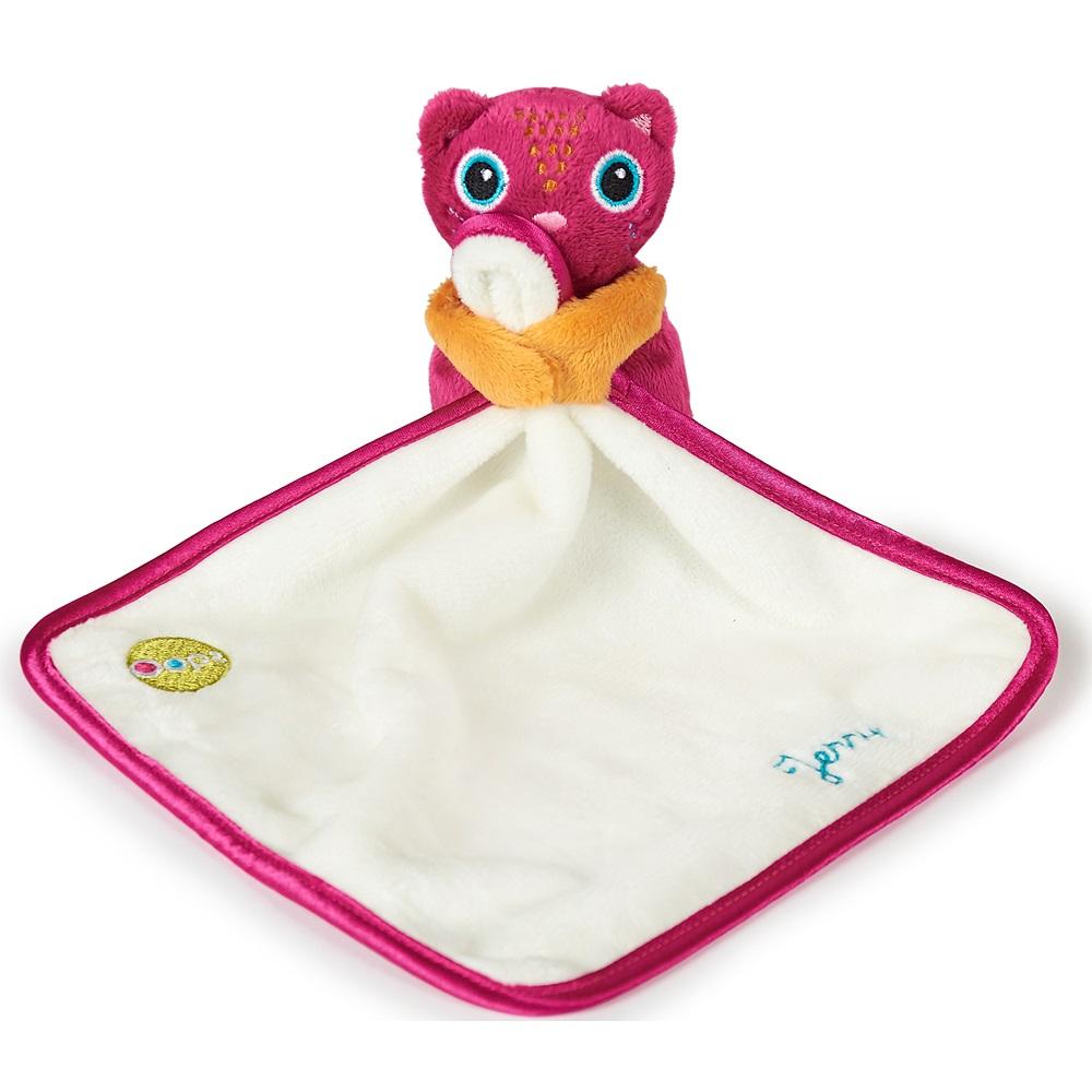 《瑞士OOPS》寶寶口水巾-貓咪