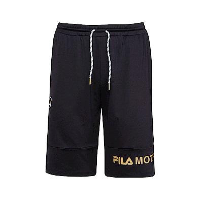 FILA 男吸濕排汗短褲-黑 1SHS-1449-BK
