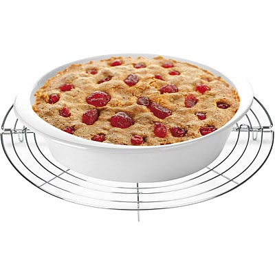 TESCOMA 折疊不鏽鋼蛋糕散熱架(圓32cm)