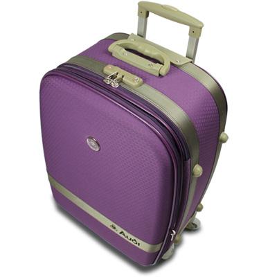 【Audi 奧迪】20吋新蜂巢格8輪360度~Audi行李箱旅行箱LT-71520-紫