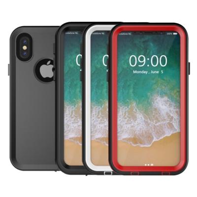 水漾-Sharks box iPhone X IP68級 防水手機殼