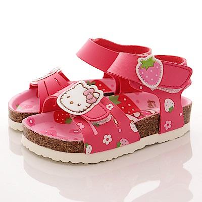 HelloKitty童鞋 草莓涼鞋款 EI17922桃(中小童段)T2