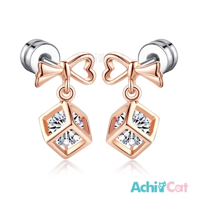AchiCat 耳環耳針式 甜蜜禮物