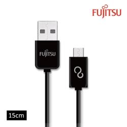 FUJITSU富士通MICRO USB傳輸充電圓線-15CM