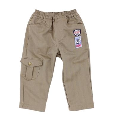 愛的世界 MYBABY 太空人鬆緊帶休閒長褲 2~4歲