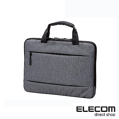 ELECOM 輕便型休閒收納包-11.6吋灰