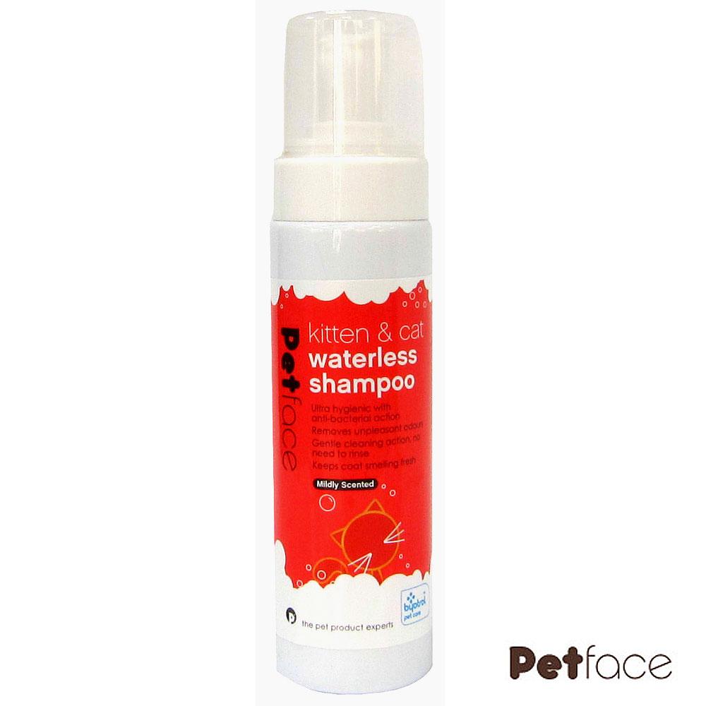 Petface除臭殺菌乾洗慕斯、幼貓及成貓用、200ml