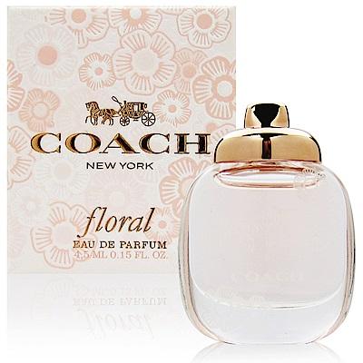 COACH-Floral芙洛麗女性淡香精4-5ml