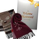 Vivienne Westwood 骷髏行星素面羊毛圍巾 均一價 2580