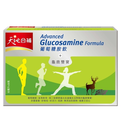 天地合補-高單位葡萄糖胺飲60ml-30入