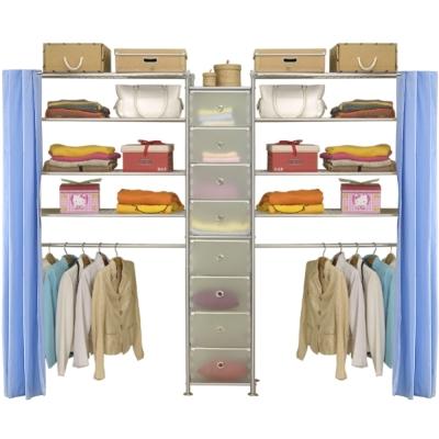 巴塞隆納─W4型90+D+W4型90衣櫥置物櫃