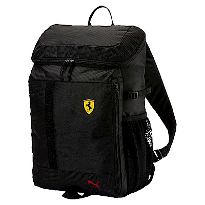 PUMA-男女Ferrari Fanwear後背包-黑色