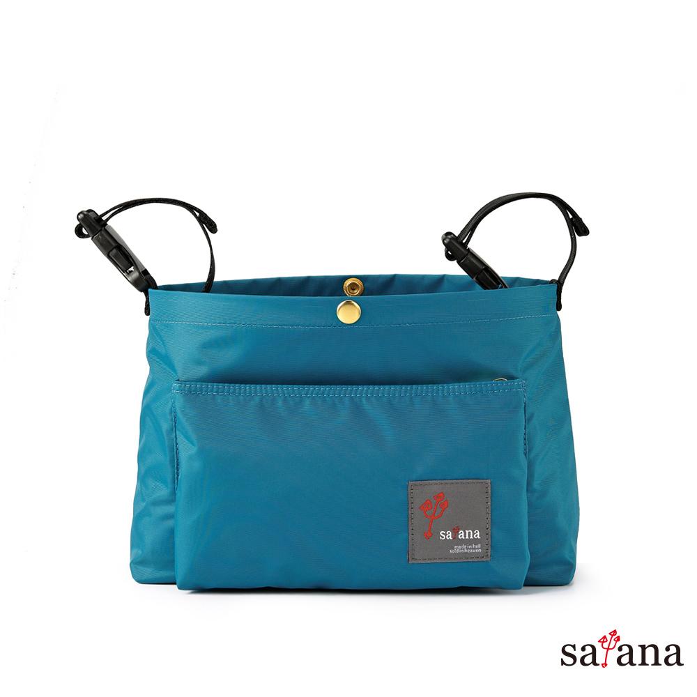 satana - MAMA 兩用嬰兒推車吊掛袋/斜背包 - 水鴨綠