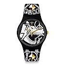 Swatch PUNK X JOB 藝術家聯名錶手錶
