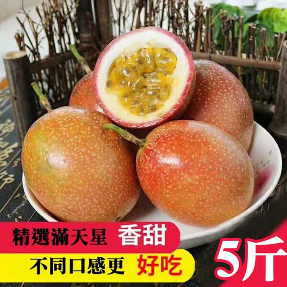 果之蔬-埔里蜜糖滿天星百香果(5台斤±10%)