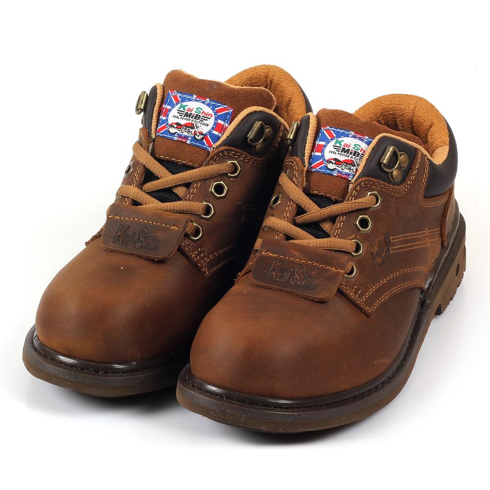 Kai Shin 低筒安全工作鞋 褐色 MGU574C00-KP