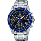 EDIFICE 大氣風格時尚腕錶(EFV-540D-1A2)藍/43.8mm