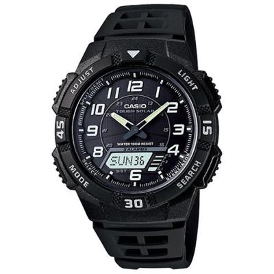 CASIO 新城市陽光遊俠電子運動錶(AQ-S800W-1B)-白刻度/42mm