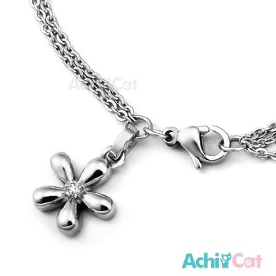 AchiCat 珠寶白鋼手鍊 可愛雛菊