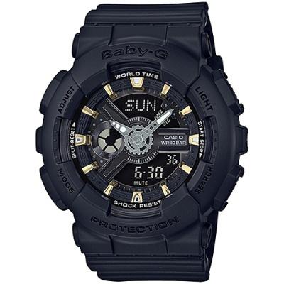 BABY-G 百變少女時代腕錶(BA-110GA-1A)-Tiffany佩戴/43.4mm