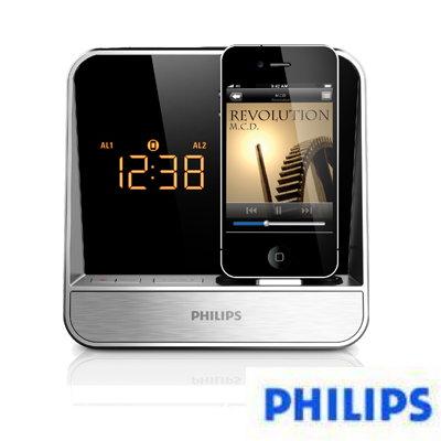 PHILIPS飛利浦 iPod/iPhone 專用時鐘收音機(AJ5300D)