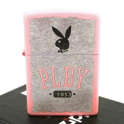 【ZIPPO】美系~PLAYBOY-班尼兔圖案設計打火機-粉