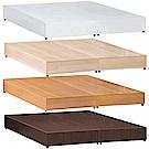 愛比家具 必備款5尺雙人床底-六分板(四色可選)