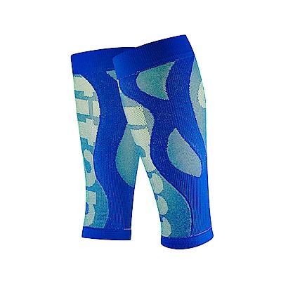【Titan】太肯壓力小腿套__寶藍(適合慢跑、馬拉松、自行車、球類運動)
