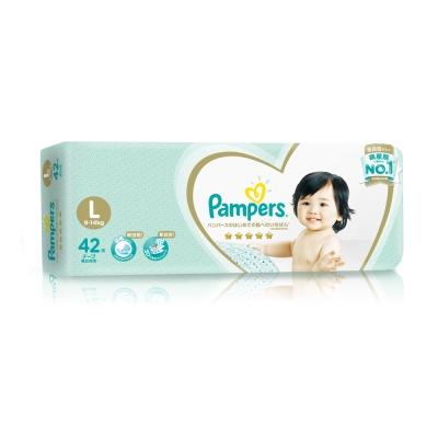 (買就送玩具電子琴)幫寶適 一級幫 紙尿褲/尿布 (L) 42片X4包_日本原裝/箱