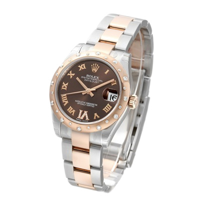 ROLEX勞力士 Datejust 178341 蠔式日誌型玫瑰金腕錶/31mm
