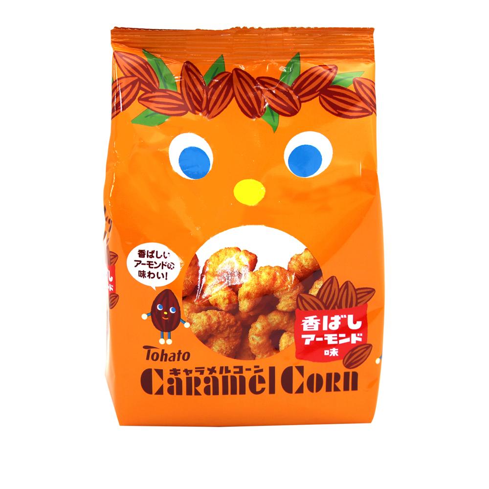 東鳩 焦糖玉米脆果-焦香杏仁(80g)