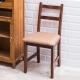 CiS自然行實木家具- 北歐實木書椅(焦糖色)深咖啡椅墊 product thumbnail 1