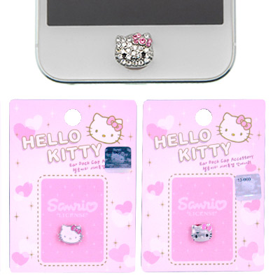 HELLO KITTY 蘋果系列HOME按鍵貼iPhone iPad