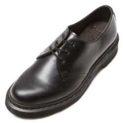 Dr.Martens-經典MONO3孔馬汀鞋-男款-黑色