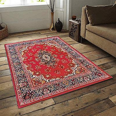 范登伯格 - 琥珀 進口地毯 - 點綴 (紅 - 小款 - 100 x 140cm)
