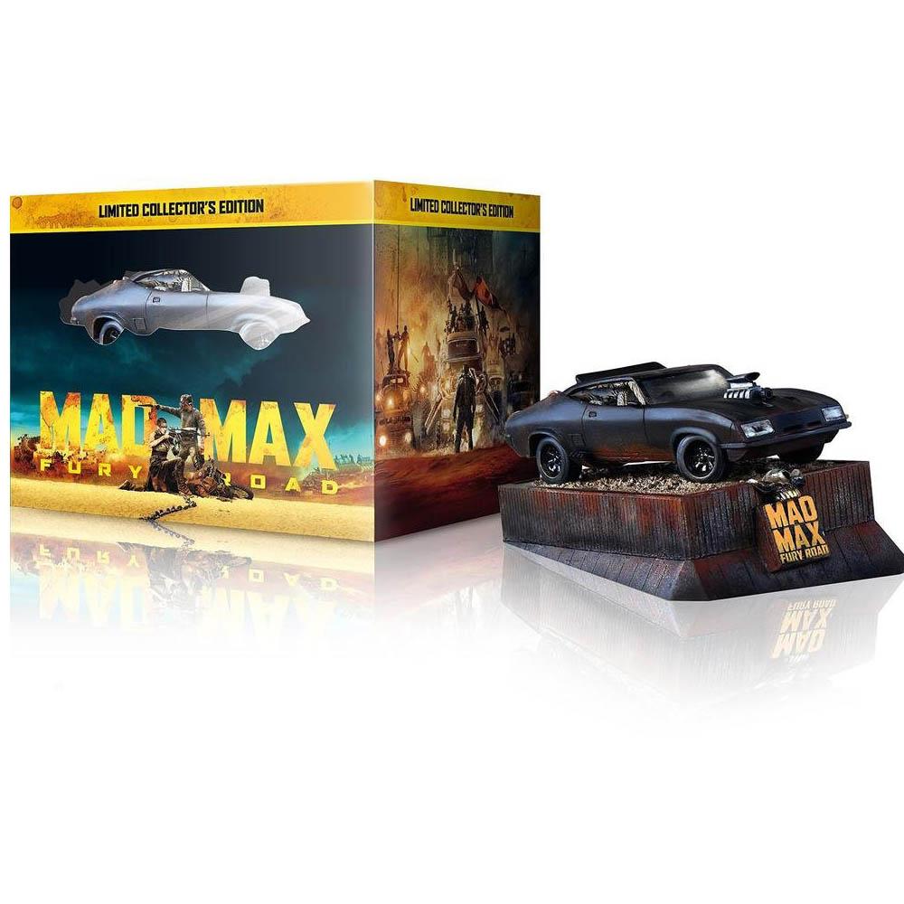 瘋狂麥斯:憤怒道3D 2D模型車收藏版藍光BD