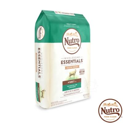 【Nutro 美士】全護營養 成犬 低熱量(牧場小羊+健康米)30磅 X1包