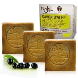 正宗敘利亞Najel 月桂油12%阿勒坡手工古皂200g三入