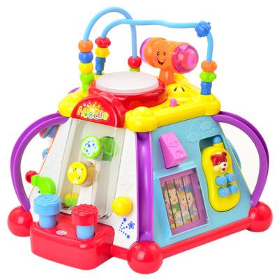 《Happy Small World》多功能益智趣味學習聲光音樂玩具