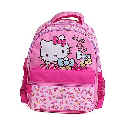 Sanrio HELLO KITTY小童用後背包S(彩色緞帶)