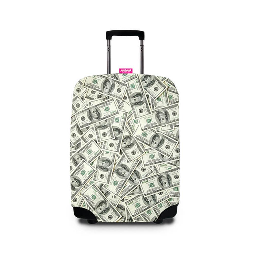 Suitsuit 行李箱套 -美鈔滿天飛(適用24-28吋行李箱)