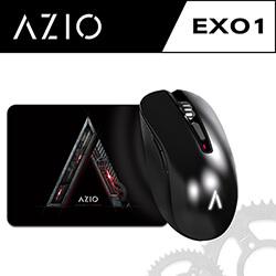 AZIO EXO1-K 真空金屬鍍膜電競滑鼠