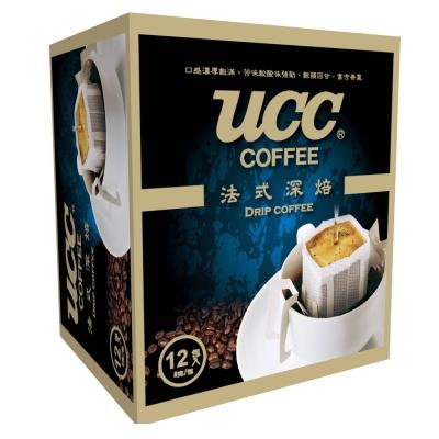UCC 法式深焙濾掛式咖啡(8gx12入)