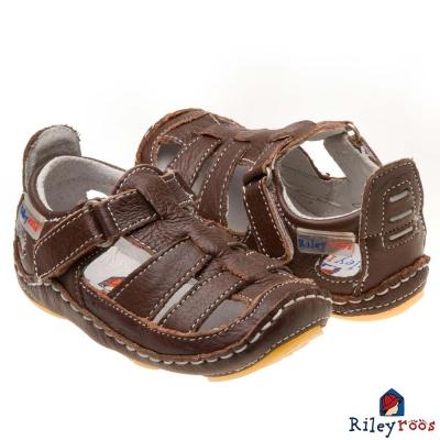 Rileyroos 美國手工童鞋學步鞋-Chessie Chocolate