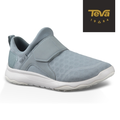 【TEVA】原廠貨 女 Arrowood Swift Slip-On 輕量休閒鞋/健走鞋(灰-TV1018312QYGR)